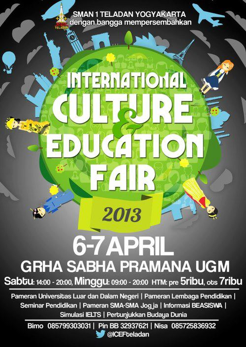 Pameran Pendidikan 2013 International Culture and Education Fair