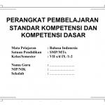 Materi Kurikulum 2013 BAHASA INDONESIA SMP / MTS KELAS VII (TUJUH)