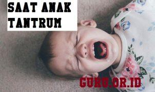 menyikapi anak tantrum