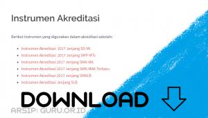 download instrumen akreditasi 2019