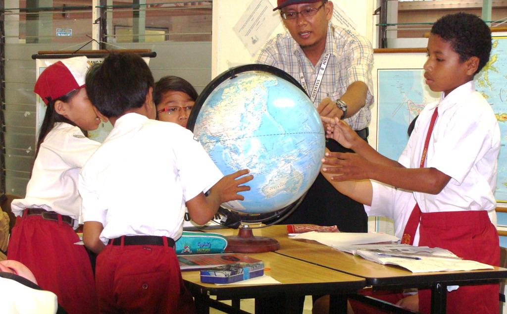 strategi mengajar geografi
