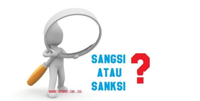 sangsi atau sanksi