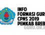 Brebes Buka Formasi CPNS 2019 Guru 17 Formasi