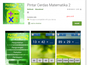 aplikasi android belajar matemarika anak