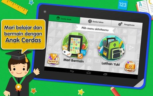 Aplikasi Android Belajar Anak