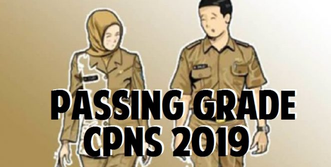 passing grade cpns 2019