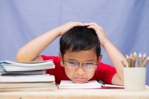 anak stres belajar dirumah