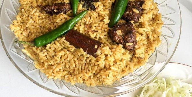 resep nasi kebuli simpel